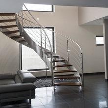 Escalier Hélicoîdal Inox Design