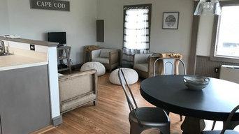 Cape Cod Rustic Summer Cottage Home Interior Design
