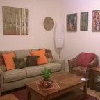 Hardwood Floors Modern Living Room Wichita By