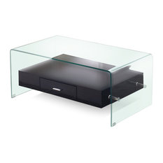 black lacquer coffee tables | houzz
