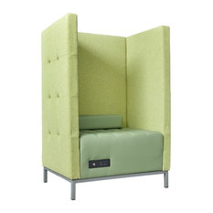 Traffic Privacy Lounge Chair, Green