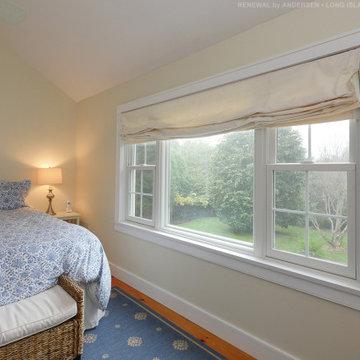 Triple Window Combination in Incredible Bedroom - Renewal by Andersen LINY