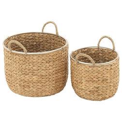 Beach Style Baskets by Benzara Inc