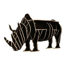 Rhinoceros Coffee Table, Black