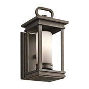 South Hope Outdoor Wall 1-Light, Rubbed Bronze
