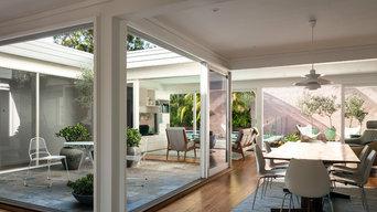 Modernist Courtyard House