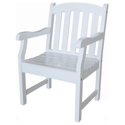 Transitional Outdoor Dining Chairs by clickhere2shop