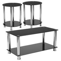 Riverside Collection 3-Piece Coffee and End Table Set