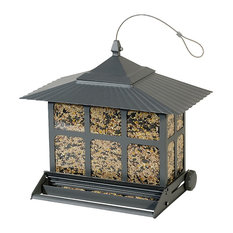 Woodstream Corp. - Perky-Pet® 351 Birdscapes® Squirrel-Be-Gone Ii® Feeder, 12 Lbs Seed Capacity - Bird Feeders