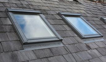 recent roofing work