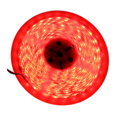 Red Super Bright Flexible LED Light Strip 16', Reel Only