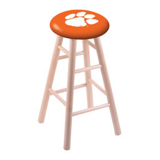 Maple Counter Stool Natural Finish With Clemson Seat 24-inch