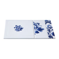 Decorative Floral Tile