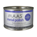 MAAS Metal Polish Can, French Lavender Scent, 1.1 Lb