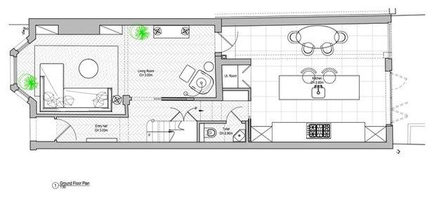 Floor Plan Houzz Tour: Victorian House Irina