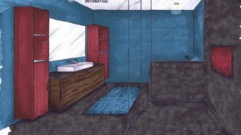 Dessins - décoration d'intérieur