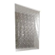 Shower Roller Blind Mother Of Pearl