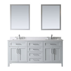 Bathroom Vanity Electrical Outlet desk power outlet bathroom vanities | houzz