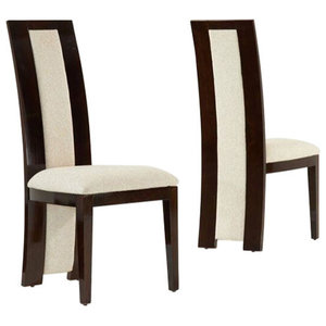 Rivilino Dining Chairs, Brown, Set of 2