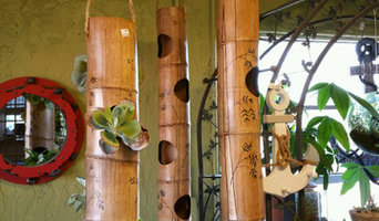 Bamboo Hanging Planters
