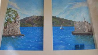 Mural of Greece ( Nafpaktos Harbor)