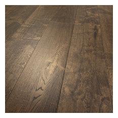 Wire Brushed White Washed Oak Floors Hardwood Flooring | Houzz
