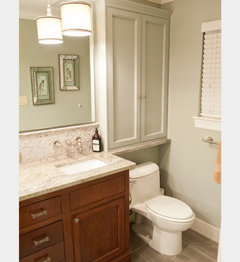 Bathroom Cabinets Above Sink would a wide medicine cabinet look clunky in my small bathroom?