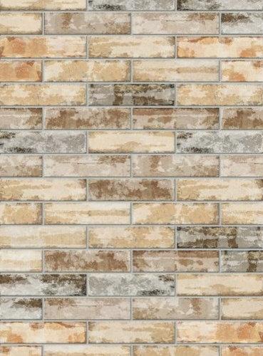 Bricklane Beige Decoro - Wall & Floor Tiles