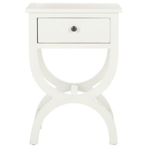 Safavieh Andrew End Table, Off White