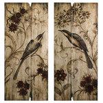 IMAX Worldwide Home - Norida 2-Piece Bird Wall Panel Set - *Please Note*