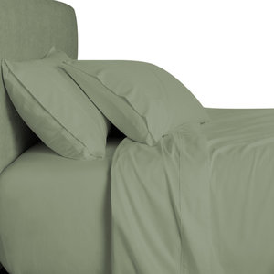 Bamboo 800 Thread Count Down Alternative Bed In A Bag, King, Sage