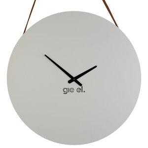 White Steel Wall Clock