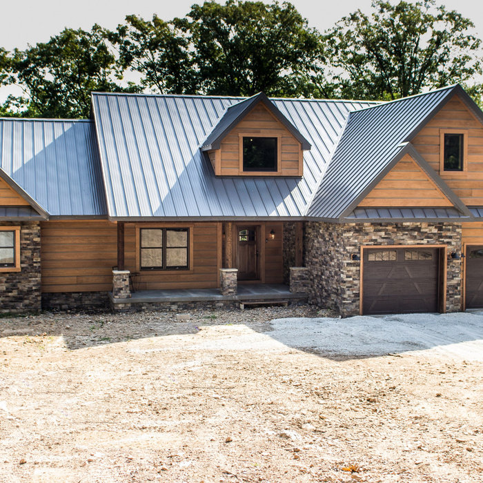 Meadows Rustic Lodge Style Home-exterior