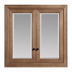 """Maddison Oak Mirrored Medicine Cabinet, 36"""""""