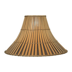 25 most popular asian lamp shades for 2018 houzz papila design inc wicker split bamboo lamp shade 6x18x12 lamp shades mozeypictures Choice Image