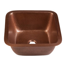 Thompson Traders 1SAC Renovations Picasso Drop In Bar Sink - - Copper