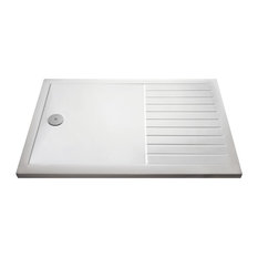 Walk-In Shower Tray, White, 1700x800 mm