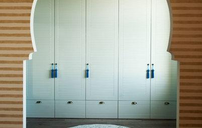 Houzz тур: Маленькая квартира — 43 кв.м цвета шафрана