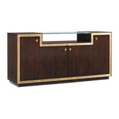 Sligh Bel Aire Palisades Media Console Brushed Brass