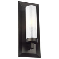 Feiss Pippin 1-Light Wall Sconce, Antique Bronze