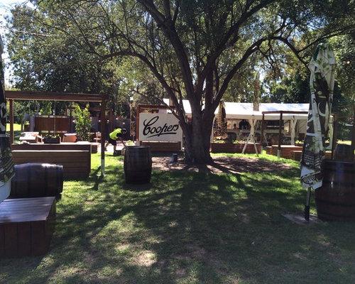 Coopers Beer Garden Rebuild   Outdoor Decor