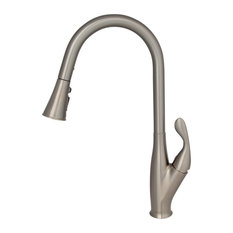 STYLISH Pull Down Kitchen Faucet  K-109B Brushed Nickel