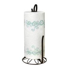 towel stand bronze. Spectrum Diversified Design - Leaf Paper Towel Holder Bronze Holders Stand A