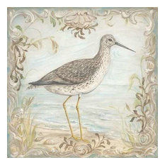 Shore Birds III by Kate McRostie Canvas Print