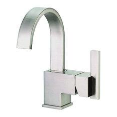 Danze D221144 Sirius Single Hole Bathroom Faucet, Brushed Nickel