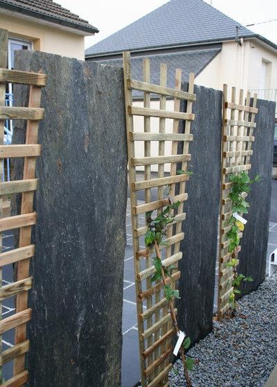 dalle d ardoise jardin latest dans cette ralisation paillettes duardoise palis ardoise pot. Black Bedroom Furniture Sets. Home Design Ideas