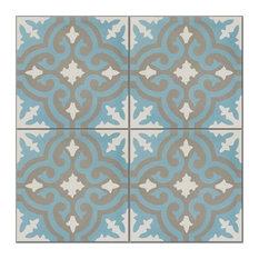 Casablanca Pattern Tiles, Set of 12
