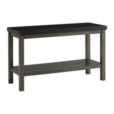 Picket House Furnishings Rectangle Sofa Table In Black