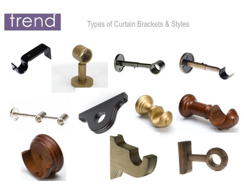 Curtains Ideas curtain rod accessories : CURTAIN RODS & DRAPERY HARDWARE - Finials I Rings I Brackets I ...