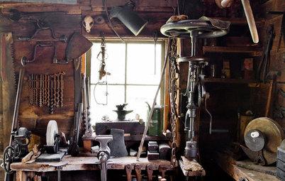 My Houzz: Step Inside a Blacksmith's Home Workshop